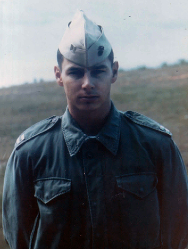 Captain Bob Nelson, Camp Schwab, Okinawa with MACS December 1968